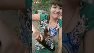 Я нашла бутылку орёл и решка
