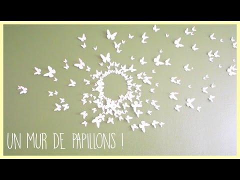 diy] Un mur de papillons ! - Zaïna - - YouTube