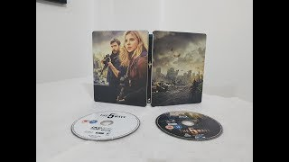 The 5th Wave Steelbook Edition Blu ray Movie unboxing + code giveaway