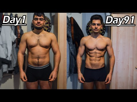 90 DAYS TRANSFORMATION | Lost 15KG (33lbs) in 12 WEEKS!