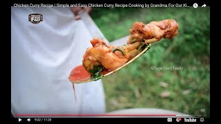 Chicken Curry Recipe | Simple and Easy Chicken Curry Recipe Cooking by Grandma For Our Kids |