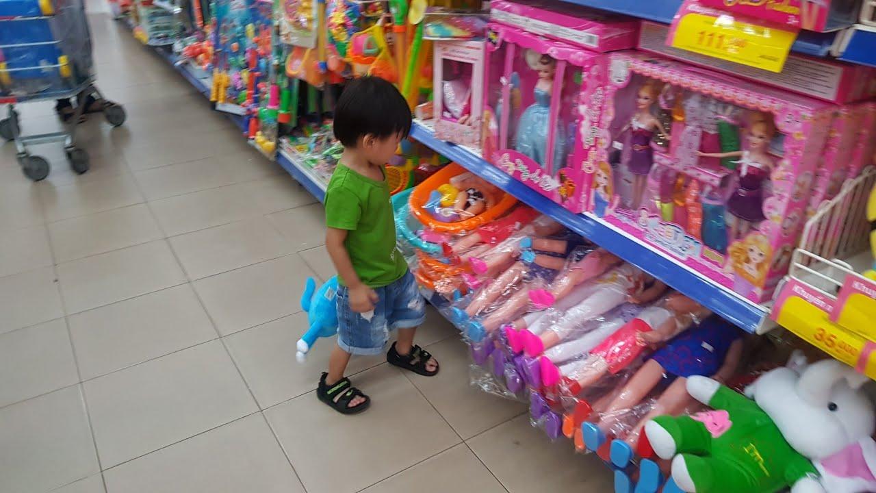 Trò chơi Bé đi siêu thị mua đồ chơi   Kids Toy Media