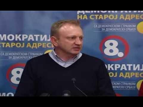 Dragan Đilas: Demokratska stranka nastavlja borbu za demokratiju u Srbiji