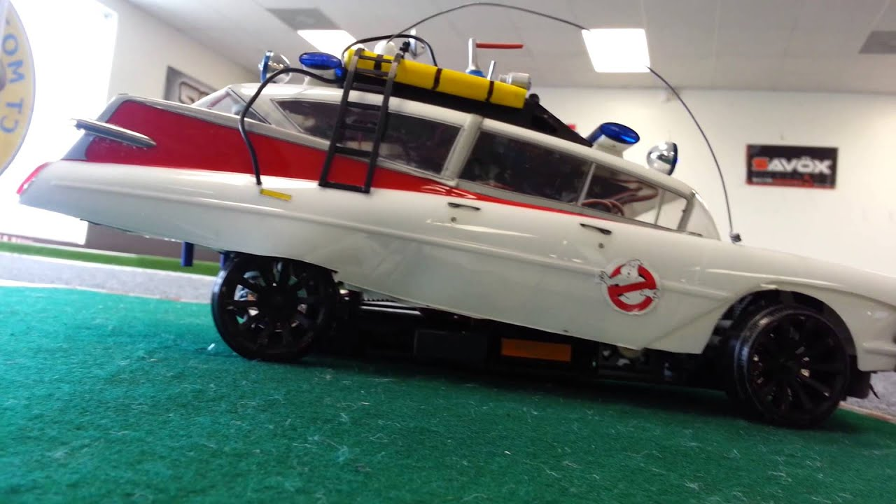 Custom Made Ghostbusters Ecto Rc Drift Car Youtube