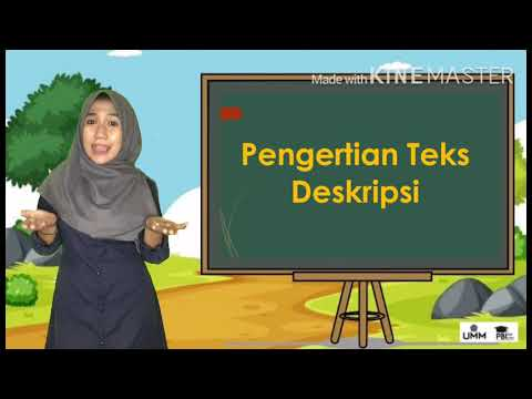 """Video Pembelajaran Bahasa Indonesia """"Teks Deskripsi"""" untuk Siswa SMP kelas VII"""
