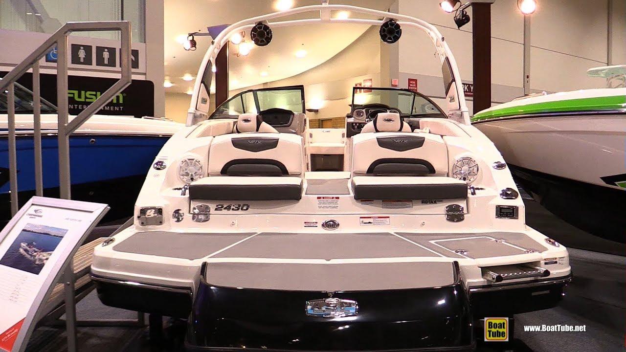 2018 Chaparral 2430 Vortex VRX Motor Boat - Walkaround - 2018 Toronto Boat  Show