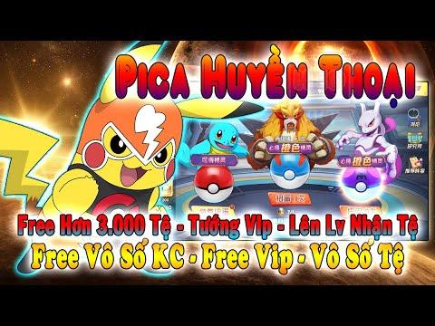 GAME 970: Pica Huyền Thoại (Android,PC) | Free Vô Số KC – Free Vip – Pokemon Vip – Vé Tệ  [HEOVKT]