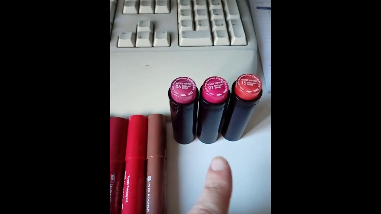 Rossetti Rouge Vertige Yves Rocher Youtube
