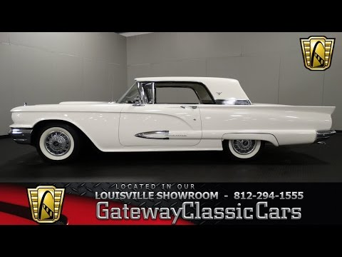 1959 Ford Thunderbird - Louisville Showroom -  Stock # 1180