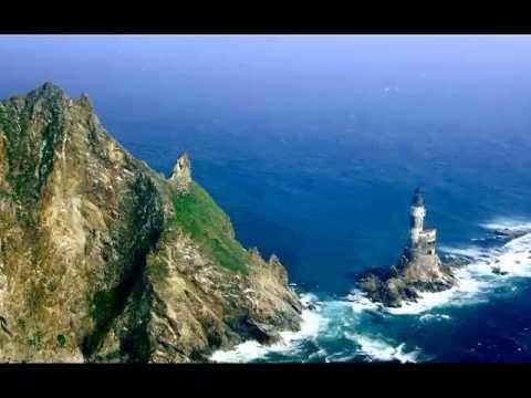 Aniva Rock Lighthouse Sakhalinskaya Oblast, Russia