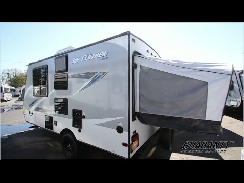2017 Jayco Jay Feather 16 Xrb Hybrid Travel Trailer Video Tour Guaranty