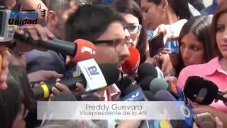 Diputados de la Unidad marcharon a la sede de la OEA, para alertar la grave situación del país