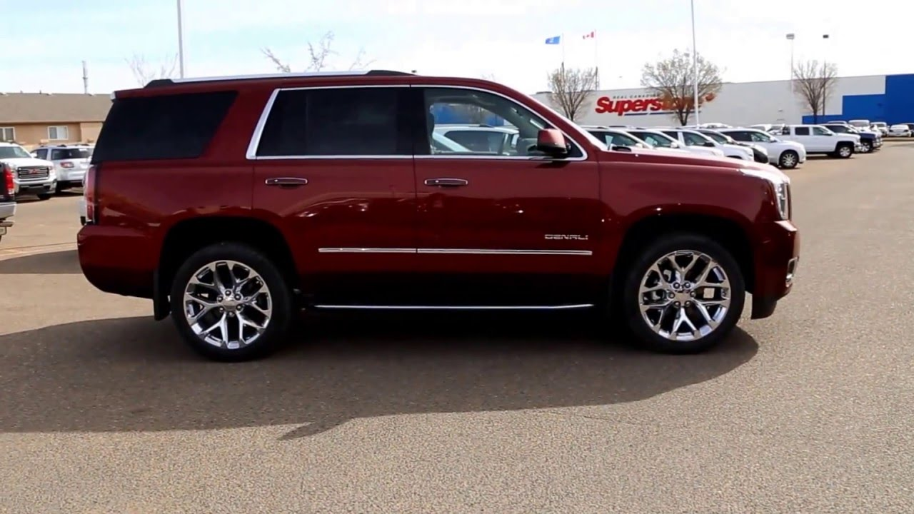 brand new 2016 gmc yukon denali for sale in medicine hat ab youtube. Black Bedroom Furniture Sets. Home Design Ideas
