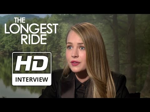THE LONGEST RIDE | 'One Word Answers' with Scott Eastwood & Britt Robertson | Official Interview