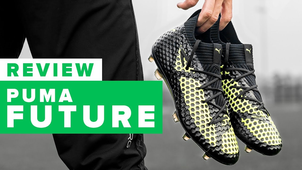 27f97d850 PUMA FUTURE 18.1 NETFIT REVIEW - best football boot of 2017  - YouTube