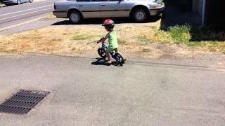 Going So Fast on a Strider Bike