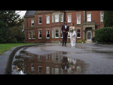 A Winter Wedding in Lancashire Lockdown - Jess and Jamal's Highlights Video, Preston Marriott