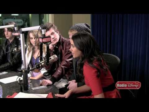 Lemonade Mouth - Funny Moments - Radio Disney Take Over - Part 3