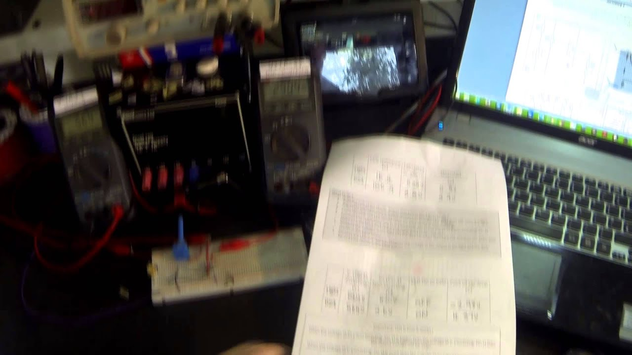 Tutorial 24 The 741 Op Amp Operational Amplifier Comparator Light Multimeter Circuit With Ic Electronic Projects Meter Gcse Aqa Electronics