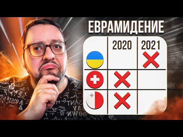Евровидение 2020 VS 2021: ИМ НЕ СТОИЛО МЕНЯТЬ ПЕСНЮ..