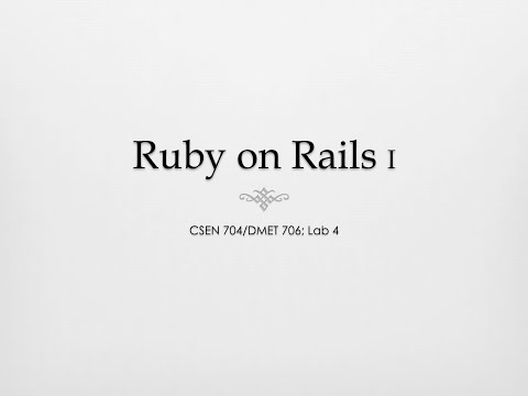 Ruby on Rails — eShop (Part 1)