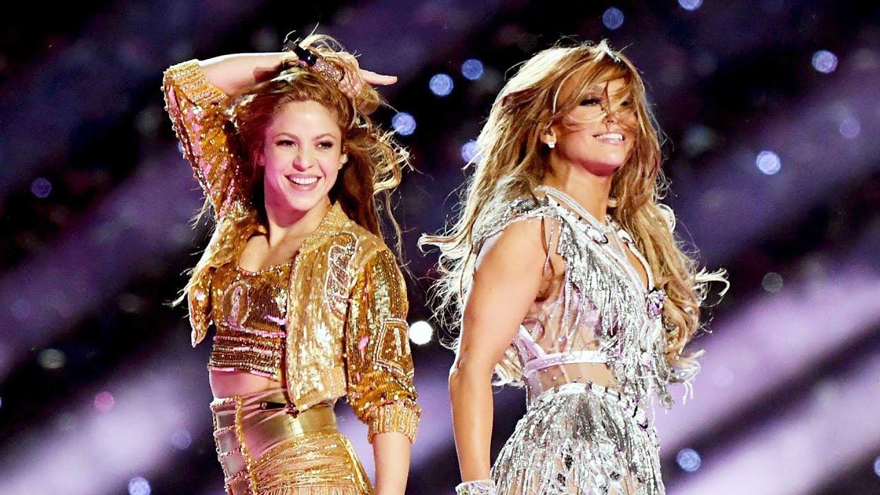 Jennifer Lopez And Shakira S Electric Super Bowl Halftime Show All The Highlights Youtube