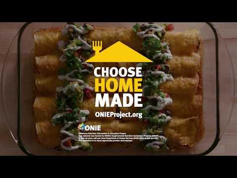 Choose Homemade Avocado Black Bean Enchiladas Family Cooking Commercial
