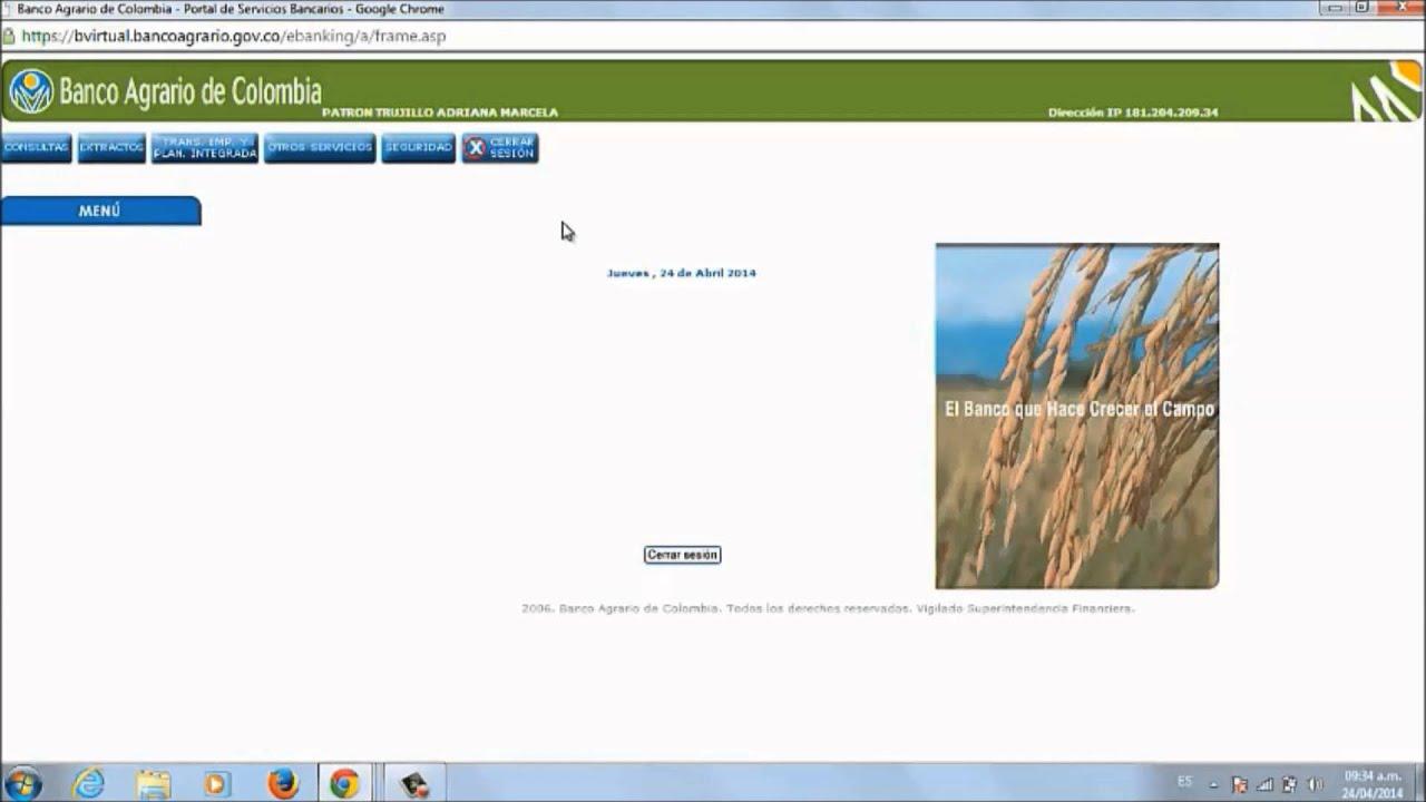 Haga parte de nuestra banca virtual youtube for Que es una pagina virtual
