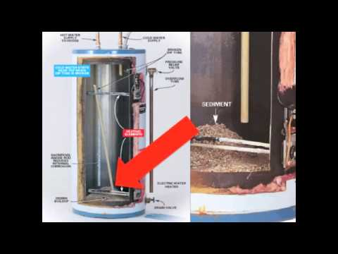 How Hard Water Destroys Your Hot Water Heater