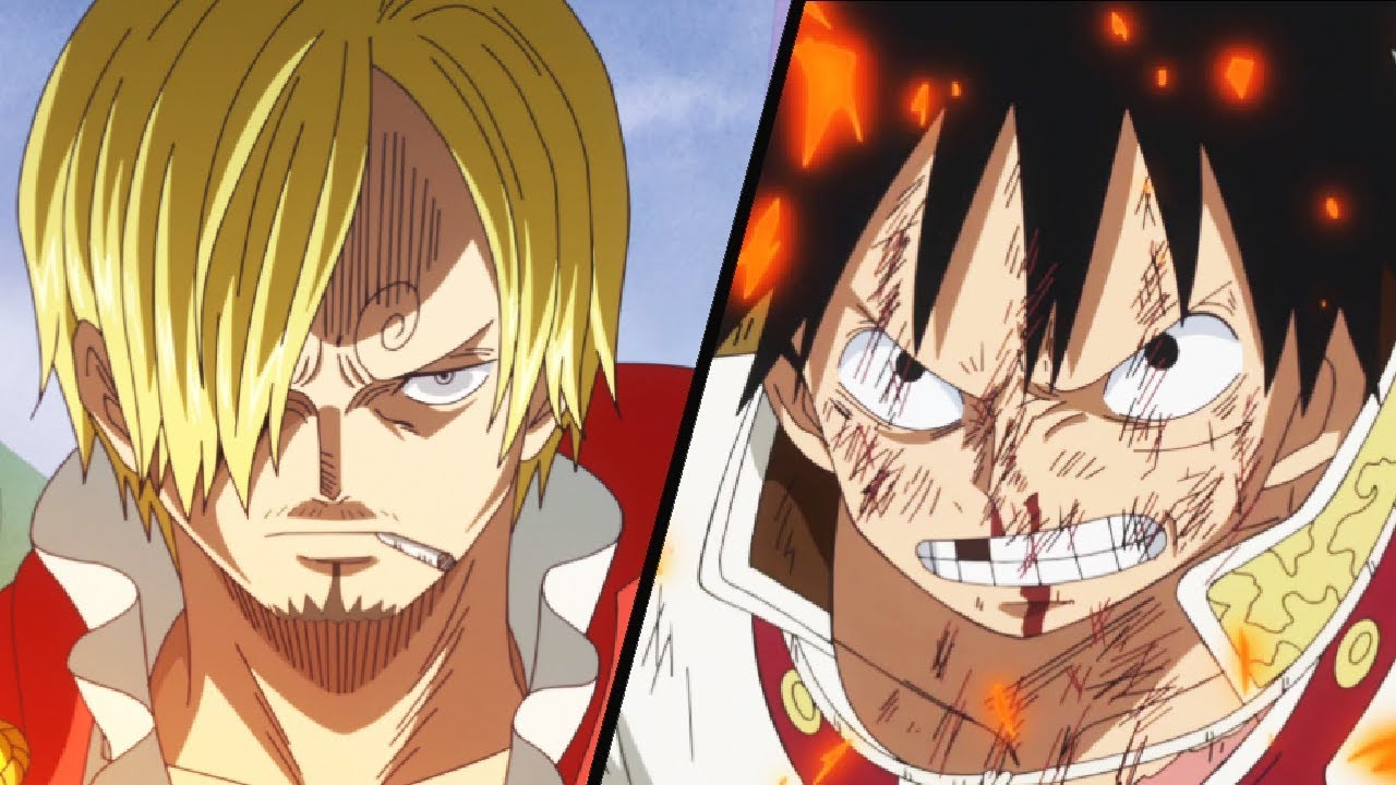 Heated Fight Luffy Vs Sanji One Piece Episode 807 807 Hour Special Anime Review Youtube