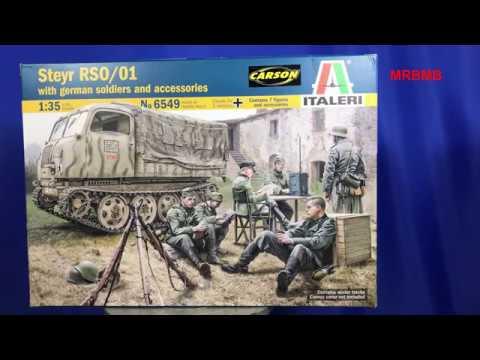 Italeri Steyr RSO/01 1/35 re-release #315