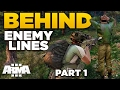 BEHIND ENEMY LINES | Infiltration [Part 1] – ARMA 3 ZEUS