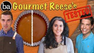 How to Make Homemade Gourmet Reese's: Bon Appétit Test #18