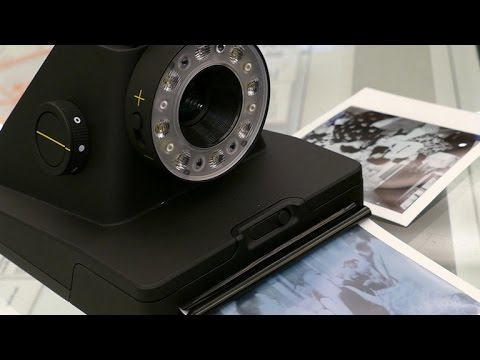 The Impossible Project's first instant film camera