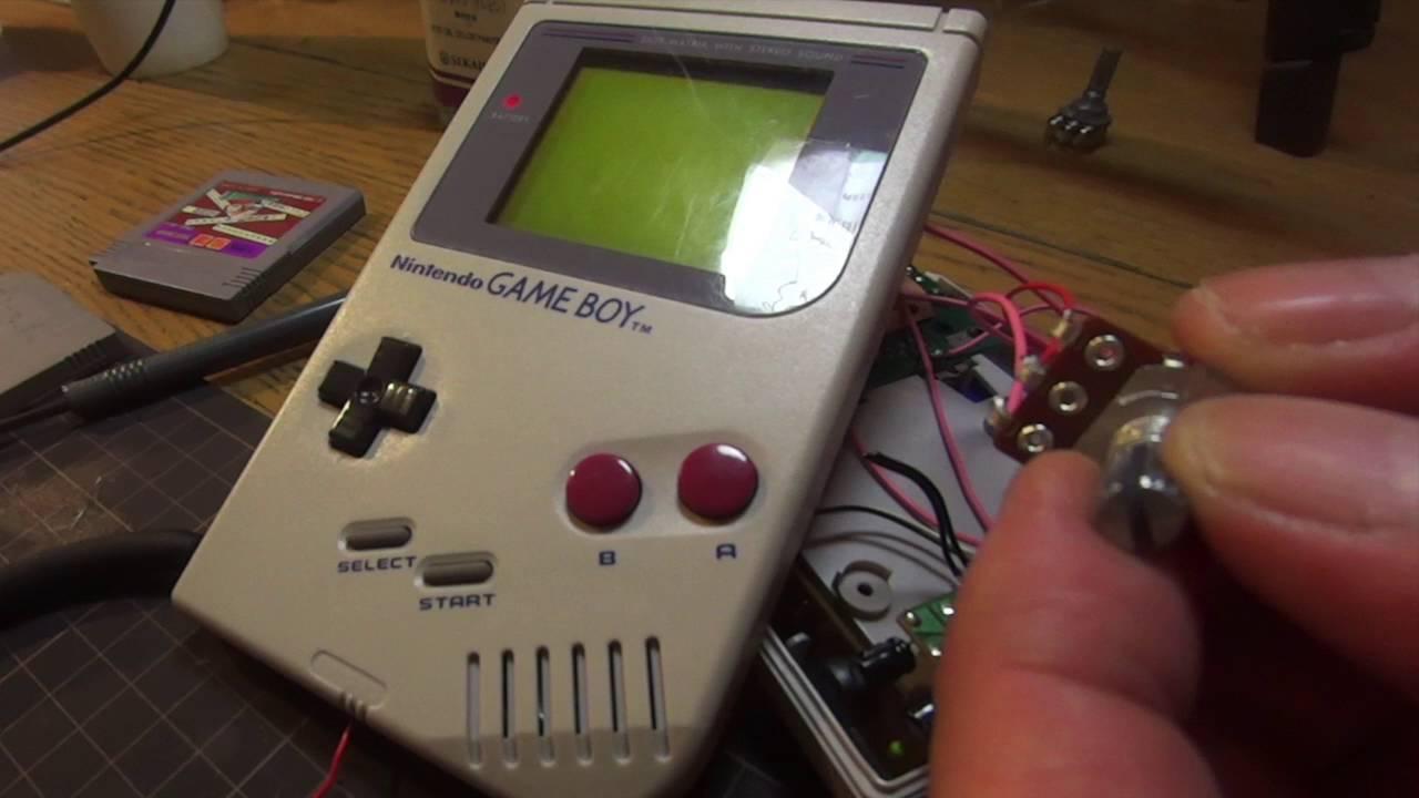 Game Boy Circuit Bent Everything About Wiring Diagram Sk1 Getlofi Bending Synth Diy Nintendo Ltc1799 Youtube Rh Com Alphabet Pal