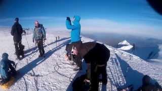 Výstup na Mont Blanc 2014