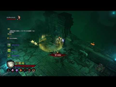 【PS4】【高画質】ディアブロⅢ  リーパーオブソウルズ #30  × リアの仇を(Diablo III Reaper of Souls Ultimate Evil Edition)