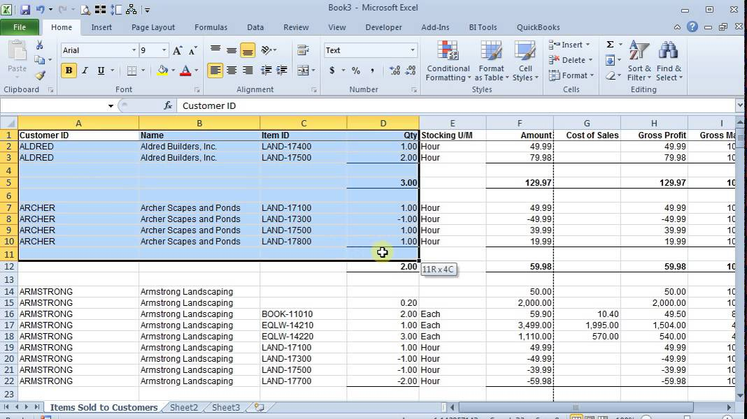 Preserve Column Widths When Copying in Excel