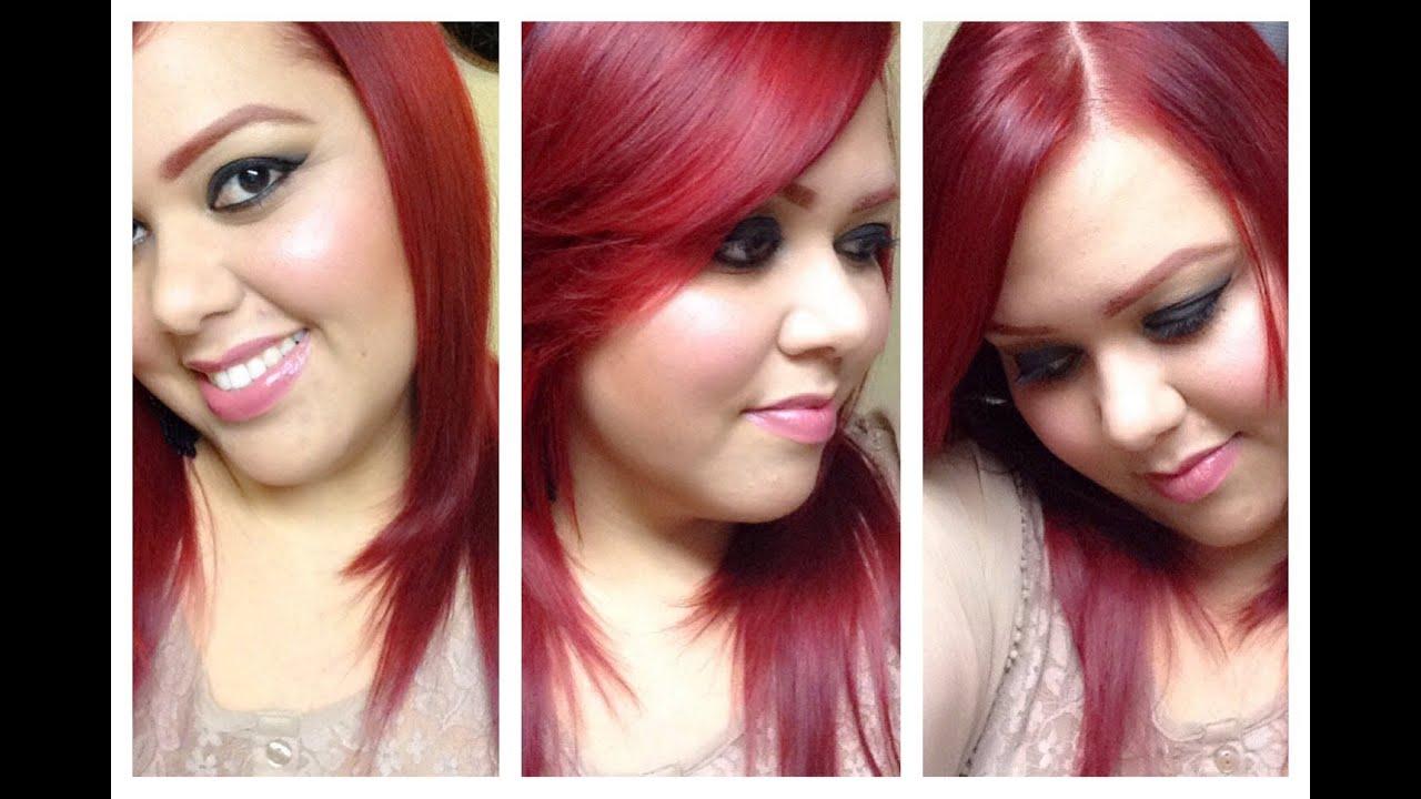 ️cabello Rojo Sin Decolorar ️ Lo Q A Mi Me Funcion 243 Red