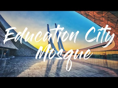 Education City Mosque   Faculty of Islamic Studies   Virtual Tour   Doha, Qatar   GoPro 4k UHD