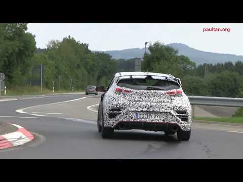 SPY VIDEO 2018 Hyundai Veloster N