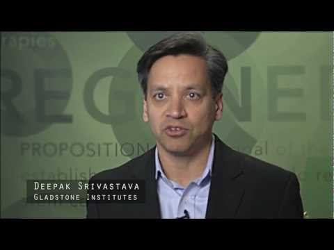 Deepak Srivastava, Gladstone Institutes - CIRM Stem Cell #SciencePitch