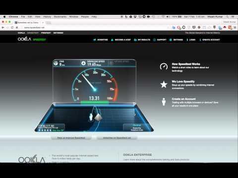 Spectranet Broadband Speed - Chennai
