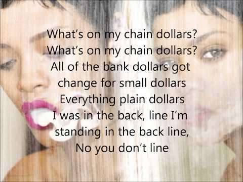 Rihanna - Fresh off the runway (lyrics)