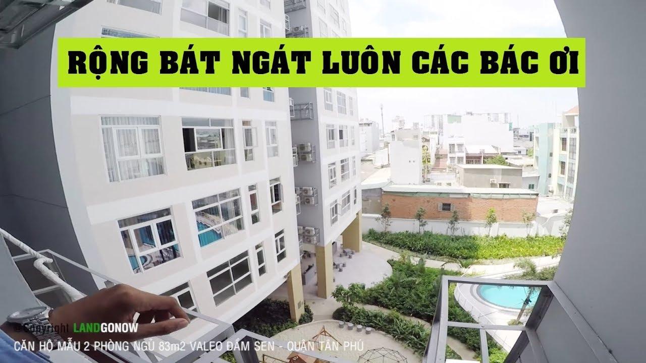 Căn hộ hoàn thiện Valeo Đầm Sen 2 phòng ngủ 83m2, Trần Đình Trọng, Tân Phú – Land Go Now ✔
