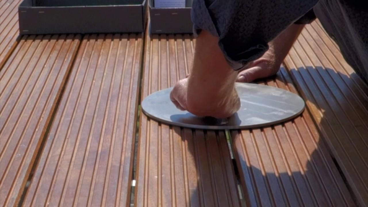 Sonnenanker Sonnenschirmstander Fur Ampelschirme Fur Holzterrassen