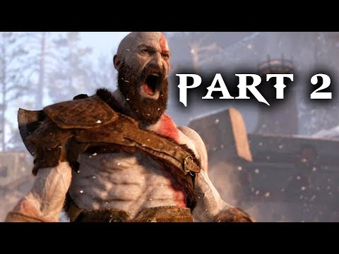 God of War Gameplay Walkthrough Part 2 - RAGE (God of War PS4 2018)