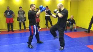 Комплексы ударов рук и ног в рукопашном бою S.P.A.S. (street fighting S.P.A.S.)