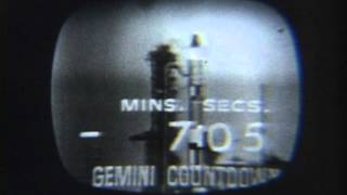 Gemini 7 Launch 8mm Footage