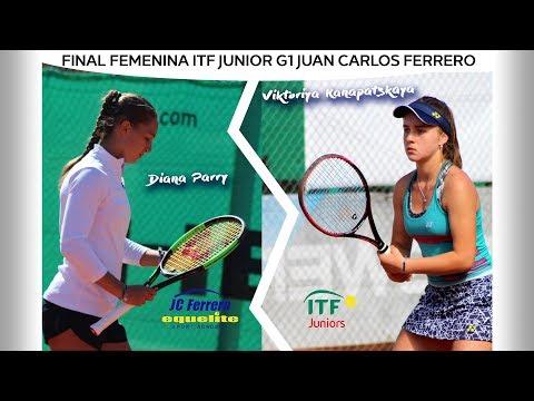 Final Femina ITF Junior G1 Juan Carlos Ferrero